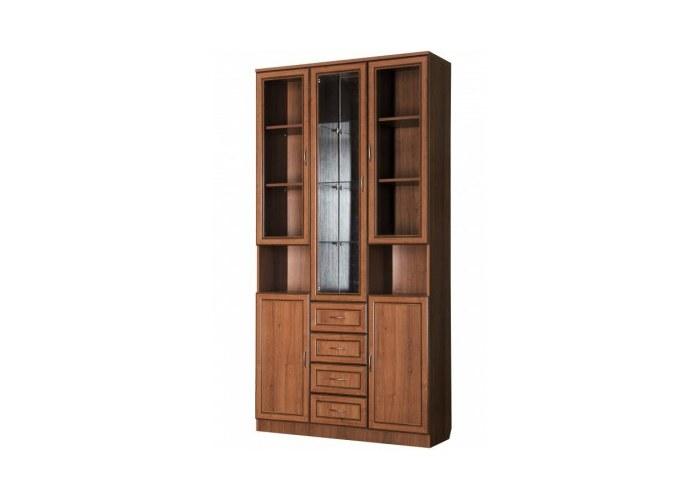 Книжные шкафы со стеклянными дверями фото до2400cm стоимостью до100000 руб.